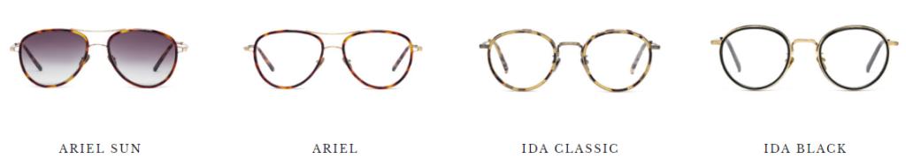 okulary tytanowe