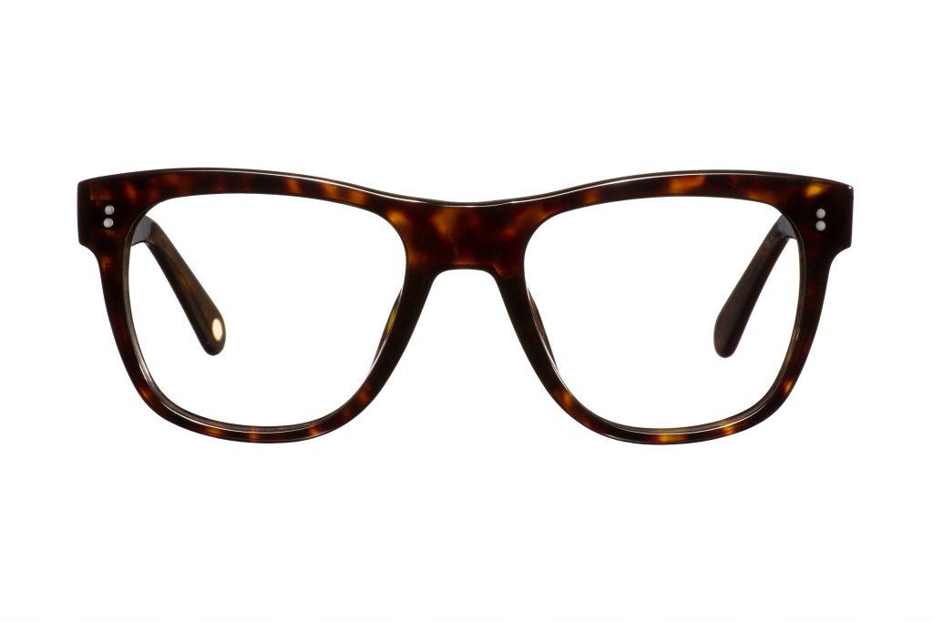 Sol Turtle duże okulary szylkretowe