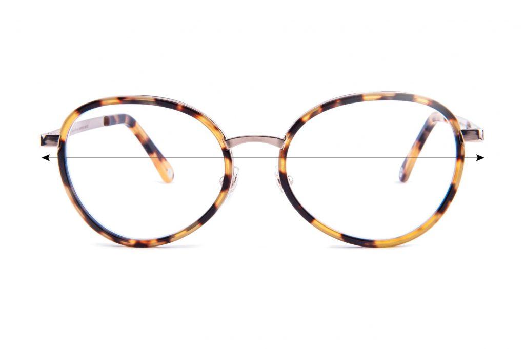 Szerokość oprawki okularowej